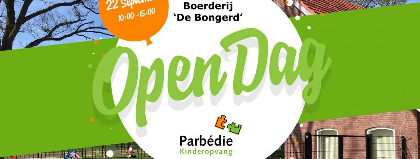 Open Dag 22 september